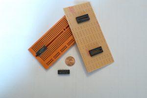 Basismaterial für eine Digitaluhr
