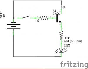 Schalten mit dem Transistor